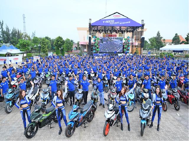 Yamaha Việt Nam Ra Mắt Diện Mạo Mới Exiter 2020 Tại Đại Hội Y-riders Fest 2020