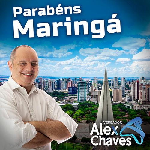 Alex Chaves - Maringá 73 anos