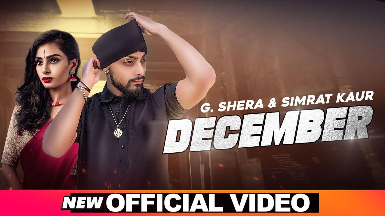December Lyrics - G Shera  Simrat Kaur