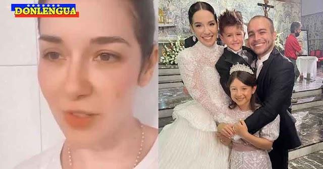 Daniela Alvarado amenaza con seguir publicando por meses todos los detalles (y anuncios publicitarios) de su boda