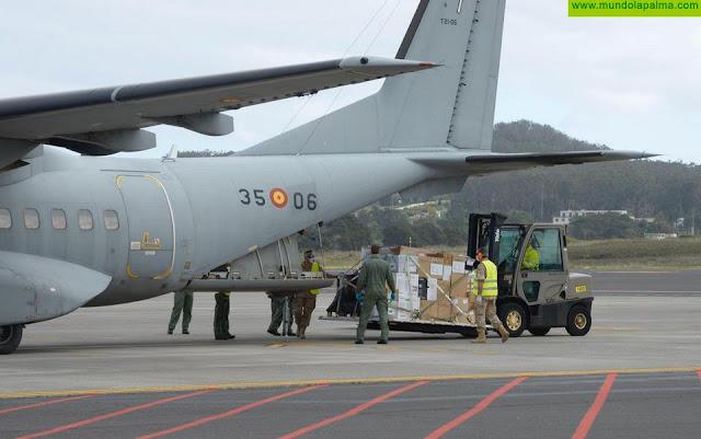 Canarias recibe un pedido de material de protección destinado al personal sanitario