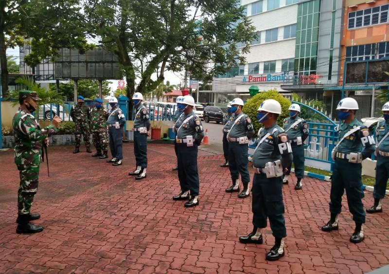 Tingkatkan Disiplin Prajurit dan PNS, POM lantamal IV Tanjungpinang Gelar OPS Gaktib TA 2020