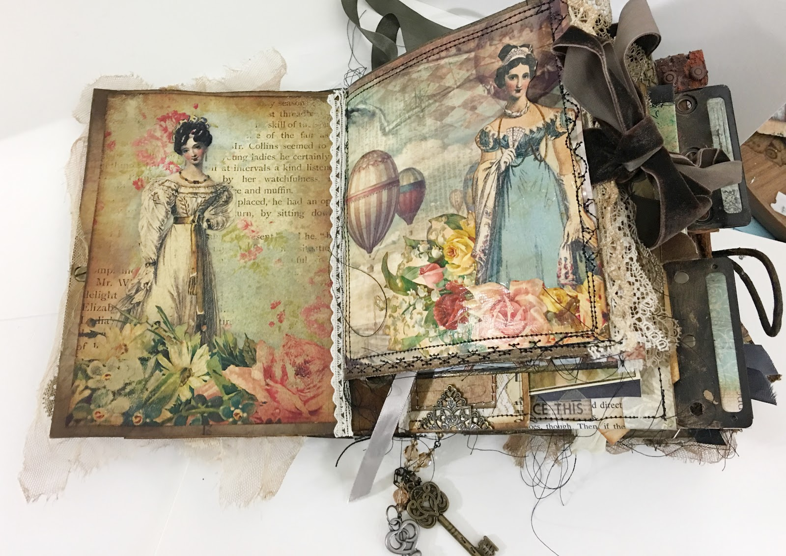 handmade, handmade book, Jane Austen, junk journal, junk journal junkies, Mask, steampunk, steampunk crafts, steampunk mask, steampunk youtube,