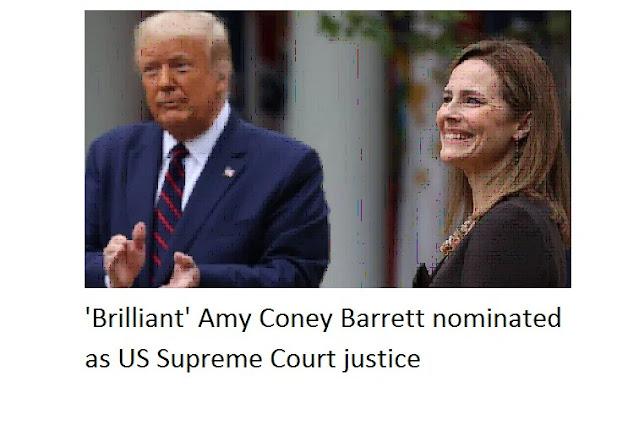 'Brilliant' Amy Coney Barrett e nominuar si drejtësi e Gjykatës Supreme të SHBA