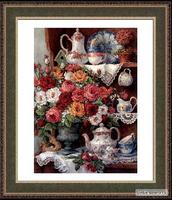 Roses and china