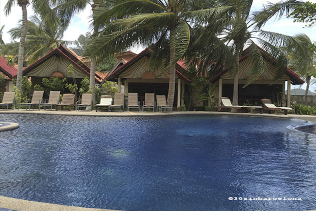 The Noble House beach resort swimming pool