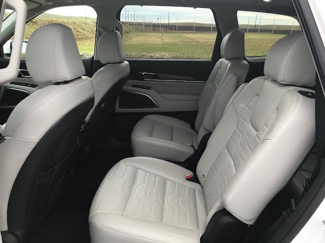 Interior view of 2020 Kia Telluride