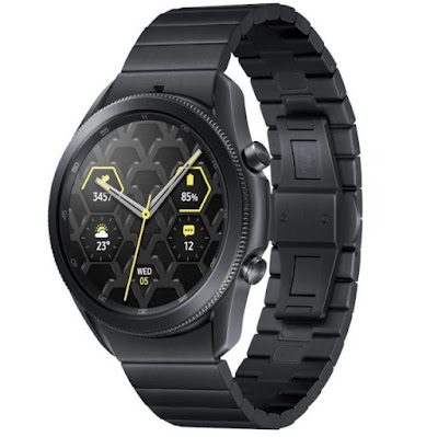 ساعة جالكسي 3 واتش تيتانيوم الذكية Galaxy Watch 3 Titanium