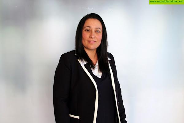 Carmen Brito, consejera de CC en el Cabildo de La Palma