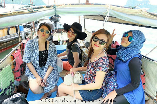 sunset tour phiphi island