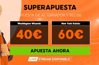 888sport superapuestas nba Washington vs New York 17 enero 2019