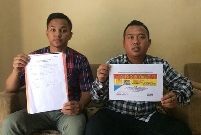 Dilaporkan Ke Bawaslu, Kampanyekan Rano Pada Program TBM