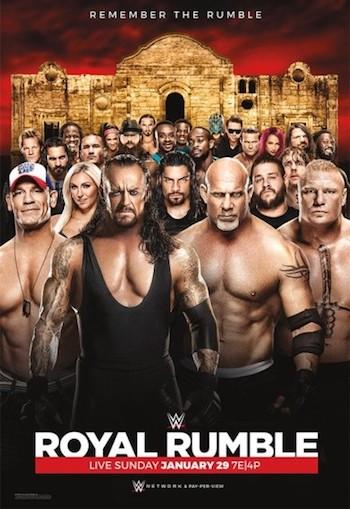 WWE Royal Rumble 2017 PPV