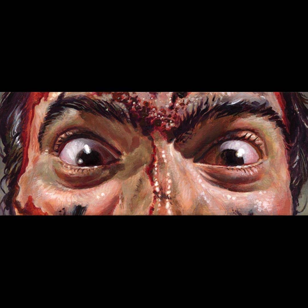 Jason Edmiston The Rock Dwayne Johnson Eyes Without a Face EWAF Print NYCC WWE