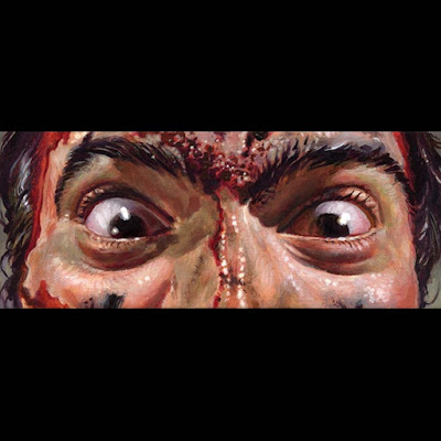 MondoCon 2018 Exclusive Eyes Without A Face Logan & Evil Dead 2 Prints by Jason Edmiston
