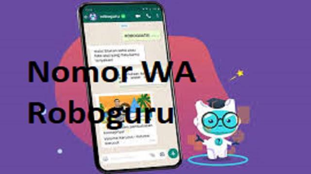 Nomor WA Roboguru