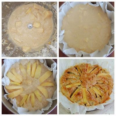 torta di mele ricetta vegan col bimby