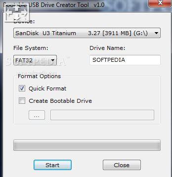 Bootable USB Drive Creator Tool
