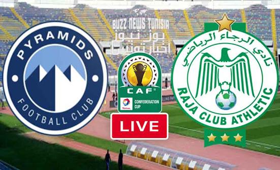 Watch Match Raja vs Pyramids Live Streaming