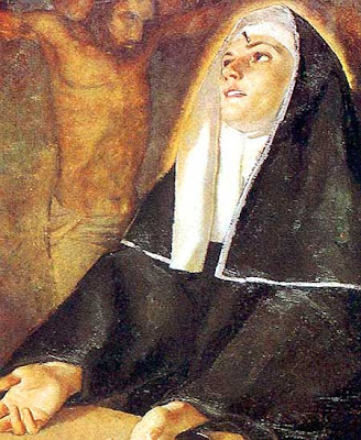 Santa Rita monja estigmatizada