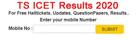 Telangana ICET Results 2020