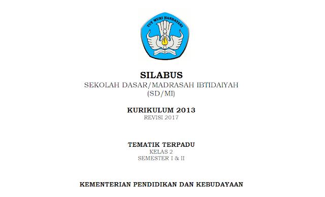 Silabus K-13 Kelas 2 SD/MI Tema 8