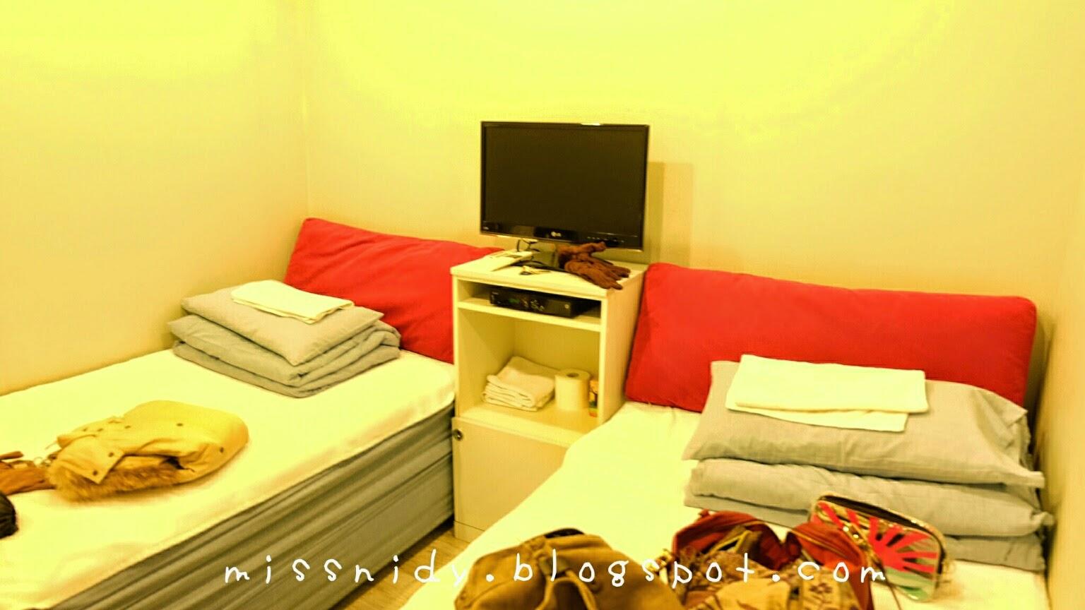 menginap di the new day hostel busan