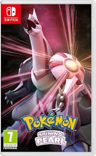 Pokémon Shining Pearl Boxart