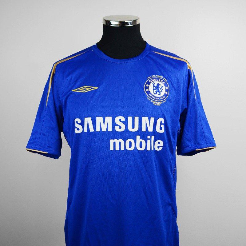 269e3c32ab4 Chelsea - 1905-2005. Chelsea FC s centenary shirt ...