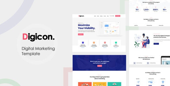 Digital Marketing Bootstrap Template