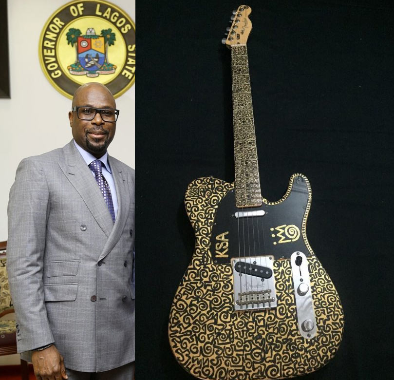 Meet the man who bought Sunny Ade's legendary guitar for 52 million naira