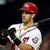 MLB: Los Nacionales tendrían previsto activar a Bryce Harper el lunes