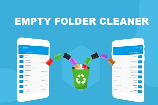 Android empty folder cleaner free app