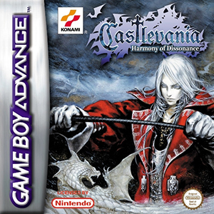 Castlevania Harmony Of Dissonance Cover