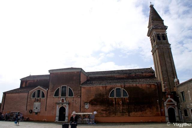 La Chiesa di San Martino unica consacrata a Burano