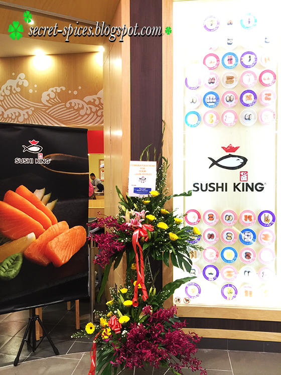 Sushi King 100th Outlet Launch at AEON Shah Alam
