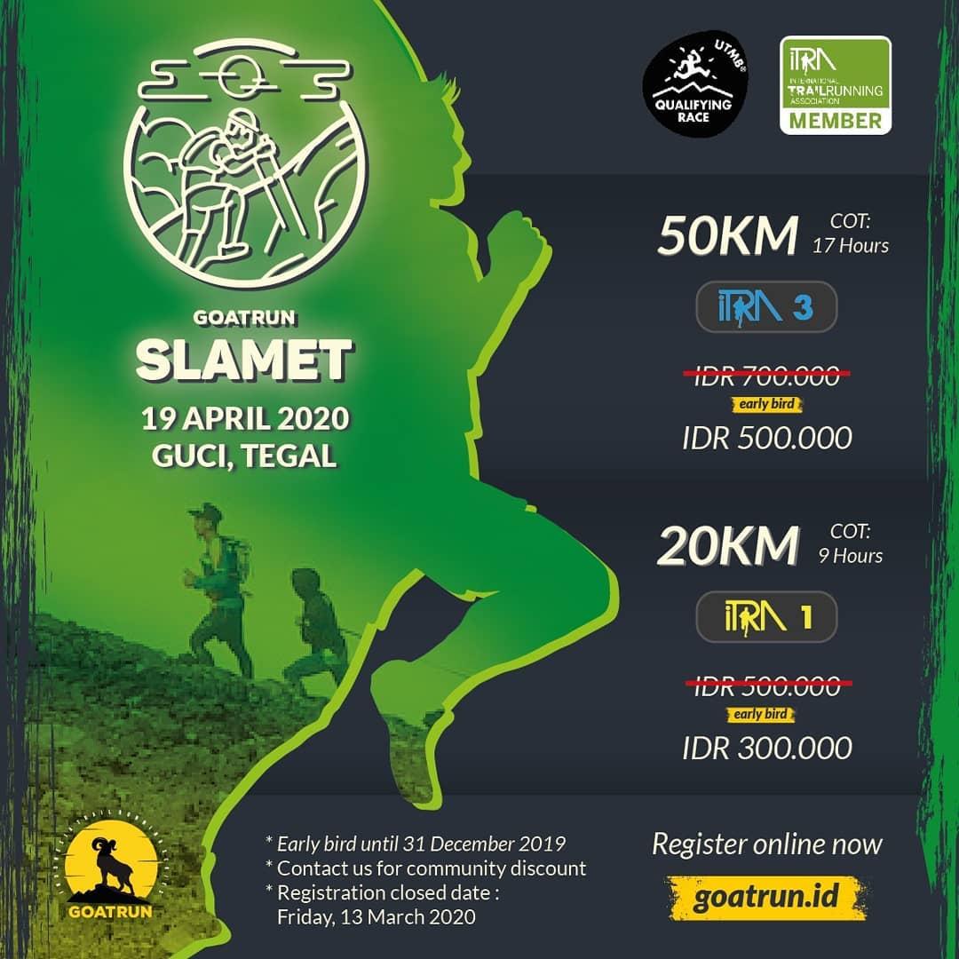 Goat Run - Slamet • 2020