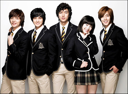 The Boys Over Flowers Korean Drama Cast namely, Lee Min-ho, Ku Hye-sun, Kim Hyun-joong, Kim Bum and Kim Joon