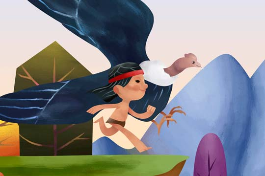 Ilustración, Nahuel y Mallku de Paulo Oñate