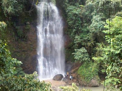 Cimandaway waterfall