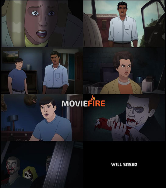 Night of the Animated Dead (2021) 1080p