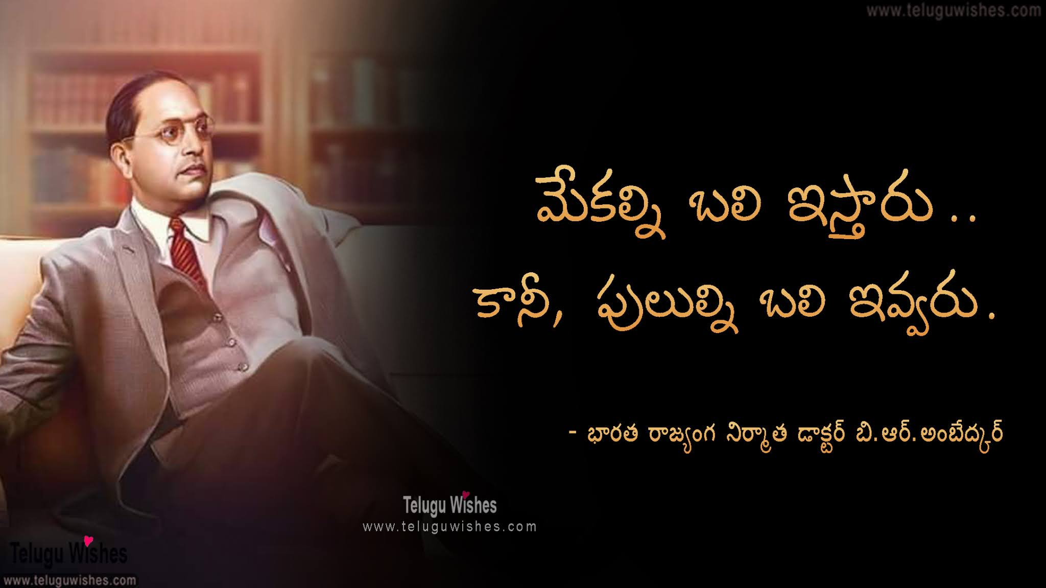 Ambedkar quotes in Telugu