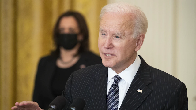 WATCH: Biden Refers To Vice President Harris As 'President Harris' During Speech