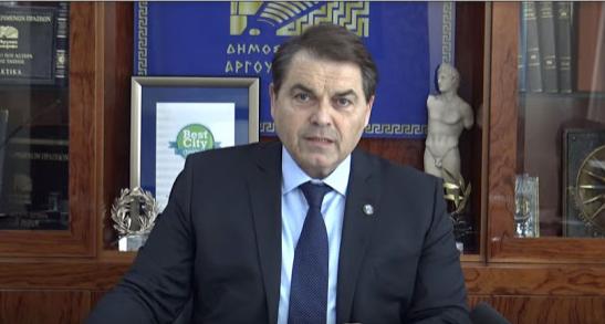 Δηλώσεις και οδηγίες από τον Δήμαρχο Άργους Μυκηνών για την αλλαγή κατεύθυνσης της οδού Γούναρη (βίντεο)
