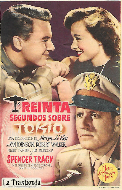 Treinta Segundos sobre Tokio - Programa de Cine - Spencer Tracy - Van Johnson - Robert Walker