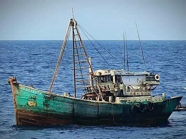 Lagi-lagi KIA Vietnam Pelaku Illegal Fishing di Laut Natuna Utara Ditangkap TNI AL