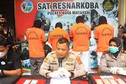 Polresta Mataram Ringkus Pengedar Sabu