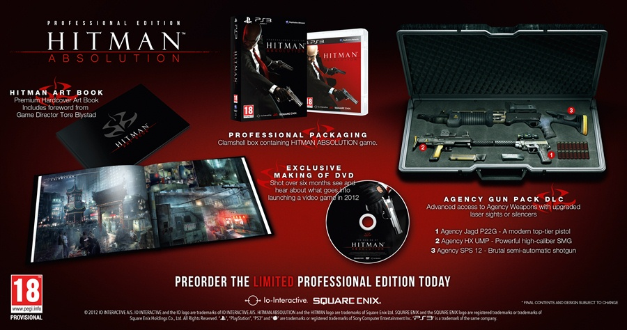 Hitman Absolution Professional Edition Download Poster