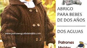 Chaqueta de abrigo para niños de 2 años / Paso a paso