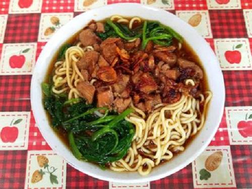 Resep Mie Kangkung paling Enak